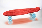 Komodo Cycling� Cruising Board Clear Red