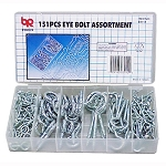 151pcs Eye Bolt and Hook Assortment