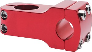 Handlebar Handle Bar Stem - Red