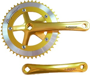 Cotterless Crank Sets - Gold