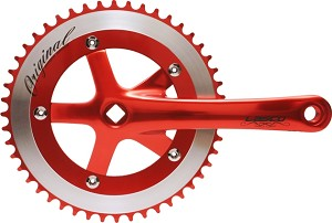 Cotterless Crank Sets - Red