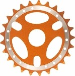 25T Sprocket - Orange