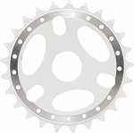 25T Sprocket - White