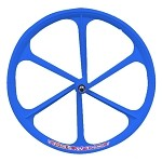 Tenny Fixed Gear Front Wheel - Blue