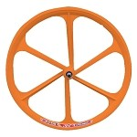 Teny Fixed Gear Front Wheel - Orange