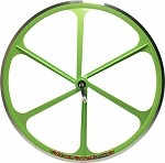 Teny Road Bike Rear Wheel - Powder Green
