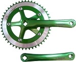 Cotterless Crank Sets - Green