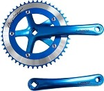 Cotterless Crank Sets - Blue