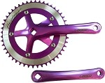 Cotterless Crank Sets - Purple