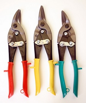 3pc Aviation Tin Snip Set