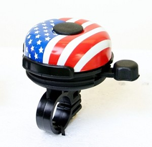 Bicycle Bell #909J (US Flag)