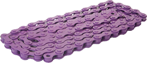 Bicycle Chain (Purple) 1/2x1/8""