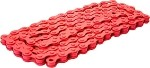 Bicycle Chain (Red) 1/2x1/8