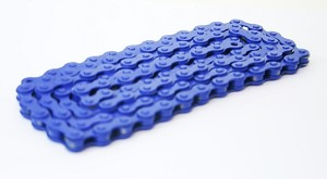 Bicycle Chain (Royal Blue) 1/2x1/8""