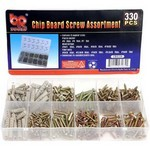 330pc Chip board screw assortment