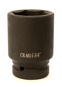"1¾"", 1""Dr Cr-Mo Air Deep Impact Socket"