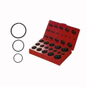 407Pcs O-Ring Assortment 32Size Black/Sae