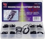 150pc Housing Ring Assortment